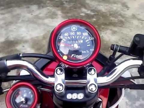 New Fino สีแดง-ขาว 54 By mocycdee