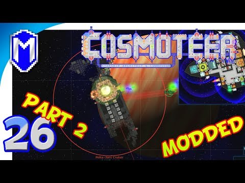 Cosmoteer - Tickling Them To Death, Weak Guns - Let's Play Cosmoteer Star Wars Gameplay Ep 26 Part 2
