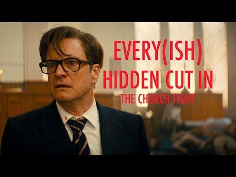 Kingsman: The Secret Service - Every(ish) Hidden Cut in The Church Fight