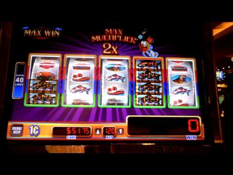 Max Win slot machine bonus win at Parx Casino.