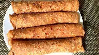 Brown chapatis made with honey,kenyan cuisine