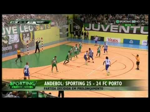 Andebol :: Play-off Final 4Jogo :: Sporting - 25 x Porto - 24 (ap) de 2014/2015