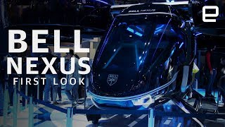 Bell Nexus First Look at CES 2019: Uber