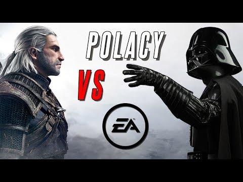 Wiedźmin zaorał EA, czyli jak CD Projekt RED skomentował DRAME z grą Battlefront 2