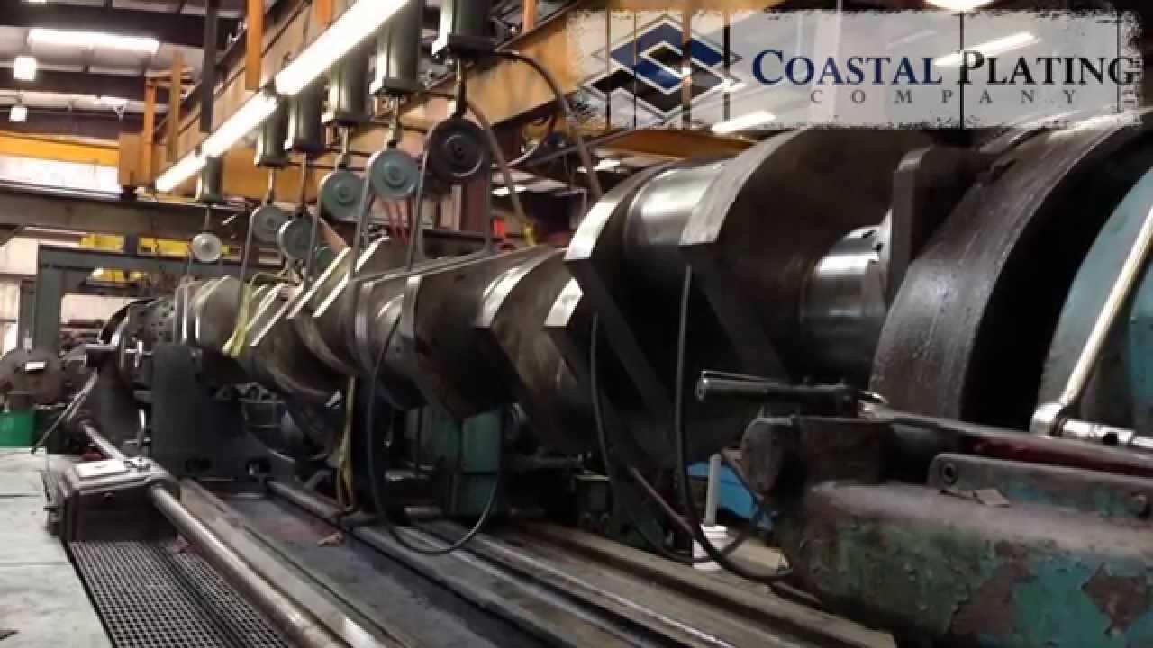 Clark Tcvc 20m Industrial Crankshaft Repair Chrome