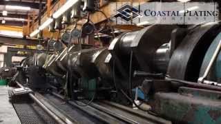 Clark TCVC-20M Industrial Crankshaft Repair - Chrome Plating