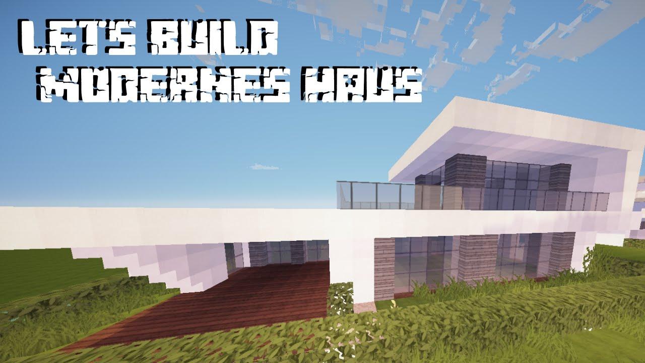 SgtRazor YouTube Gaming - Minecraft modernes haus bauen part 1
