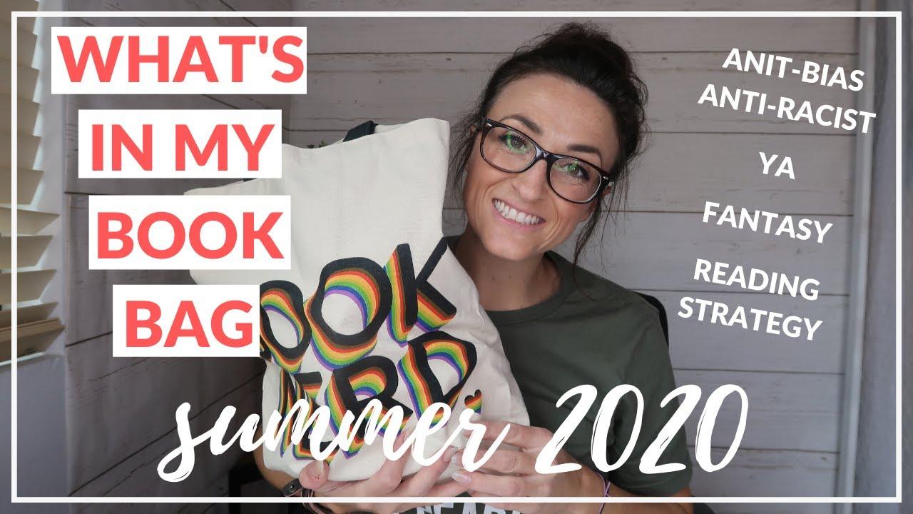 WHAT'S IN MY BOOK BAG | SUMMER 2020 | High School Teacher