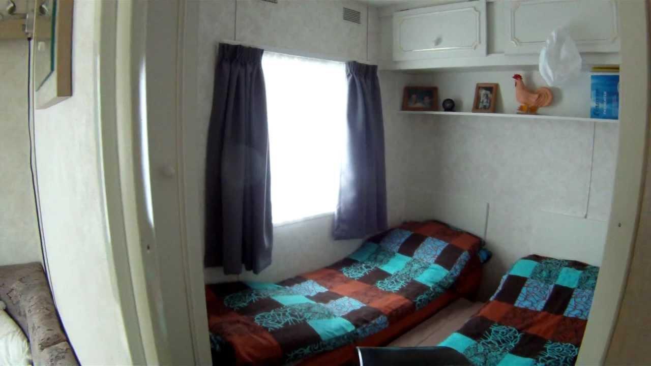 ascot stacaravan 3 slaapkamer op camping de stern te koop - YouTube