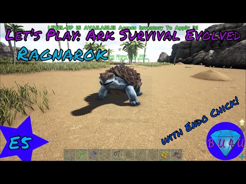 All them turtles! - Ark Survival Evolved with Endo Chick   Ragnarok   Modded   Let's Play   S1E5