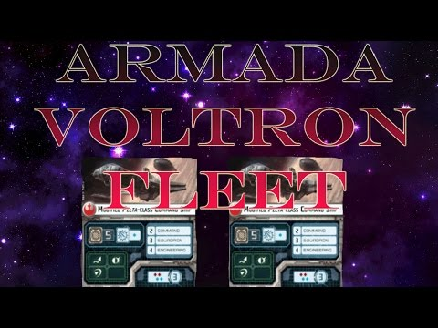 Armada Fleet Building : Voltron Design