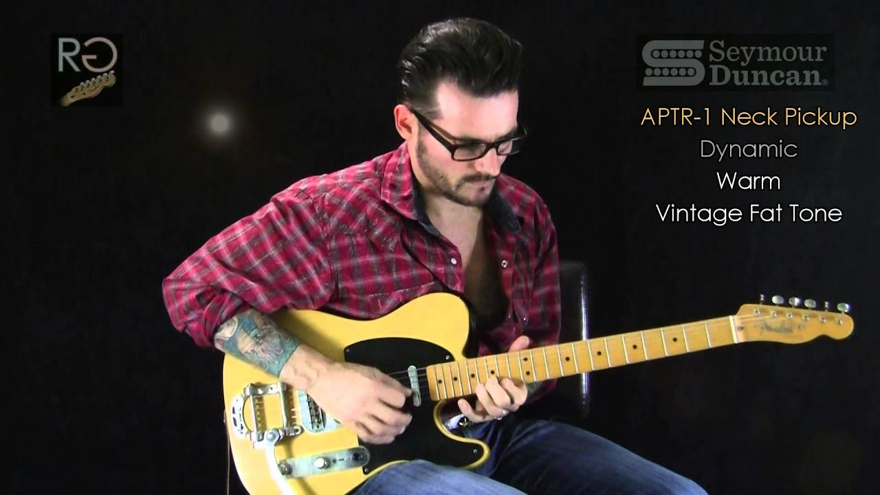 Seymour Duncan Alnico Pro Tele Rhythm Vintage Guitar Pickup Chrome