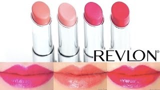 Revlon Lip Butter Swatches On Lips 4 Shades #2