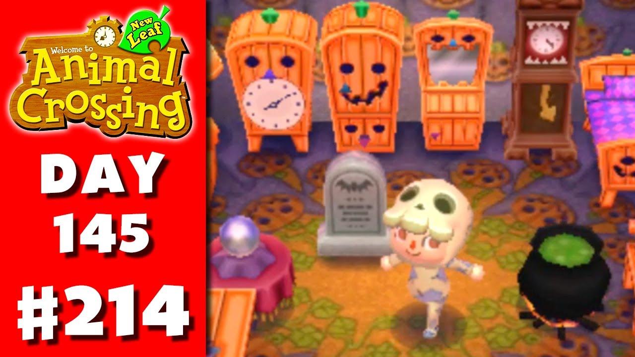 Animal Crossing: New Leaf - Part 214 - Halloween! (Nintendo 3DS ...