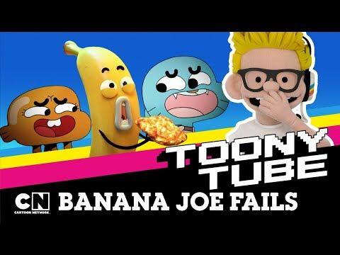 Toony Tube | Banana Joe Fails | Cartoon Network UK