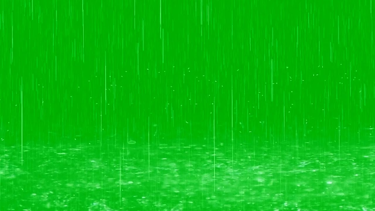 Free Fall Facebook Wallpaper Raindrops Fall In Puddles Green Screen Effect Youtube