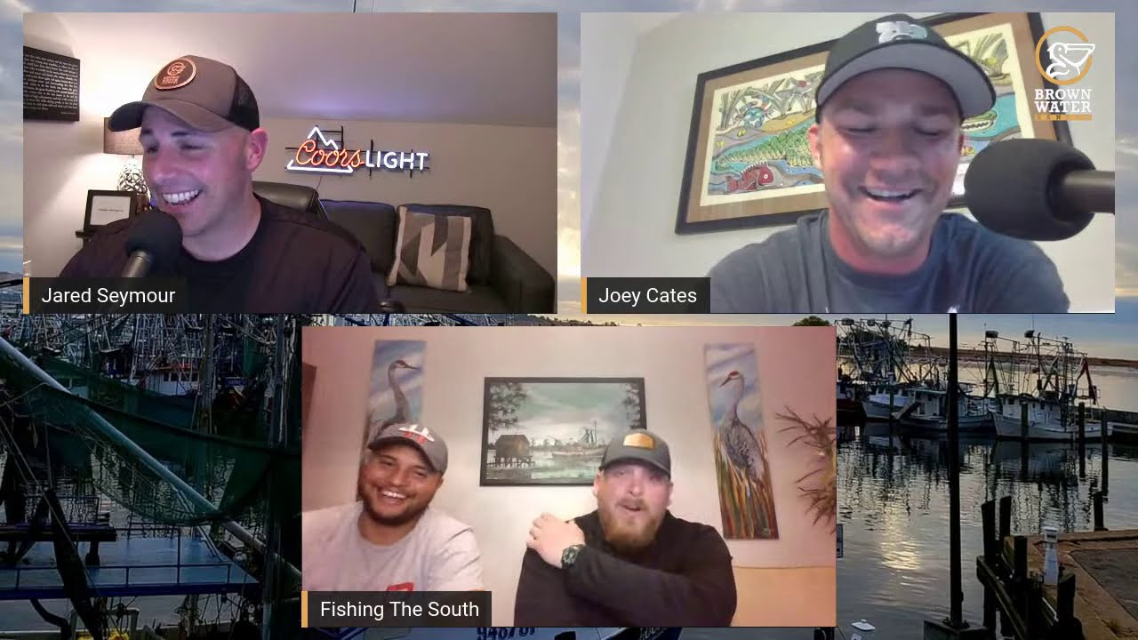 Brown Water Banter Ep 64| Josh Harmon from Fishing the South #brownwaterb