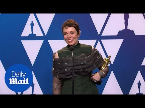 Olivia Colman talks about her Best Actress Oscar win