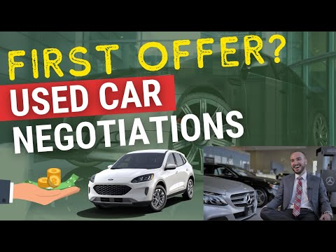 How to Negotiate Used Car Price: Lowest Offer to Make on Used Cars in 2020
