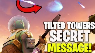FORNITE TROLLED US ALL! *SECRET* METEOR SOUND EASTER EGG (Fortnite Tilted Towers Comet)
