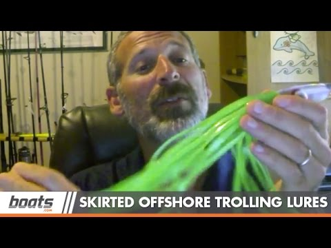 Lenny's Fishing Tips: Choosing Skirted Offshore Trolling Lures