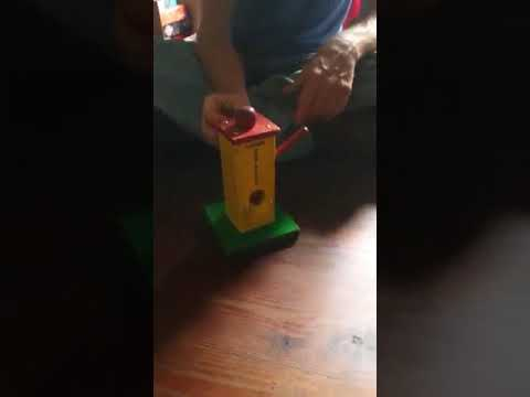 John B. Plays with antique toys