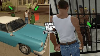 شاهد ماذا يحدث ل أوجي لوك في السجن في قراند سان أندرياس | GTA San Andreas OG Loc In Prison