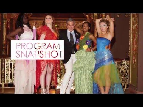 Program Snapshot Fashion Design Merchandising Youtube