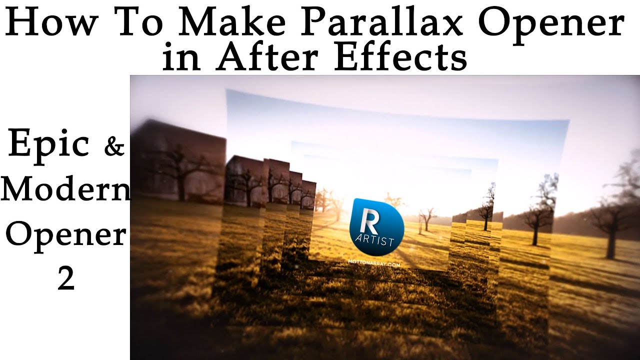 how to achieve parallax effect