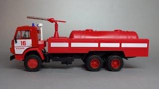 КамАЗ-53213 Пожежний автомобіль порошкового гасіння АП-5   АРЕК Елекон   Масштабна модель 1:43