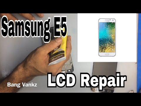 Cara Ganti Lcd Samsung E5 E 500 H Lcd Repair Youtube