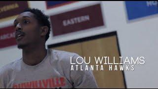 Chuck Ellis Workouts: Lou Williams #TheGetBack