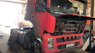 Volvo Fm Сломалась ( Едем В Сто ( Часть 2 )