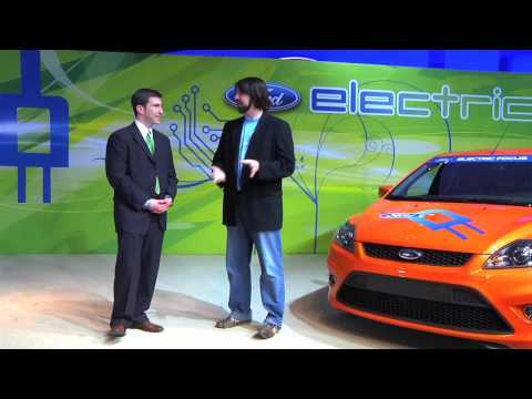 Interview on Ford's Electric Car Partnership with Microsoft