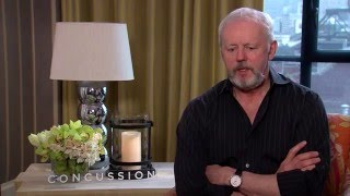 """Concussion: David Morse """"Mike Webster"""" Official Interview"""