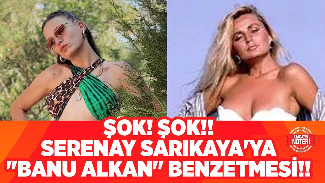 Serenay Sarıkaya'nın Olay Yaratan Bikinili Pozlarına Cenk Eren'den 'Banu Alkan' Göndermesi!!