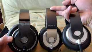"Sony MDR-XB500 ""Extra Bass"" headphones unboxing"