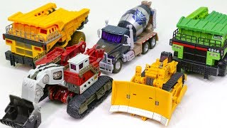 Transformers ROTF Construction Demolisher Rampage Mixmaster Long Haul Payload Vehicle Car Robot Toys