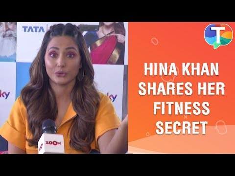 Hina Khan Reveals Her Fitness Secret, Workout Routine And Fitness Challenge | Exclusive