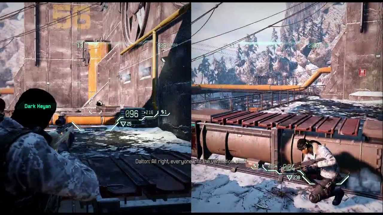 Fuse Xbox 360 Multiplayer : Fuse demo splitscreen co op hd playthrough part
