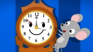 Hickory Dickory Dock | Kindergarten Nursery Rhymes For Toddlers | Cartoons For Children by Kids Tv