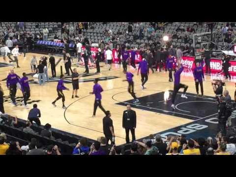 Spurs vs Lakers @ ATT Center