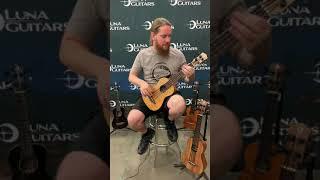 Luna Bari Bass Ukulele Demo