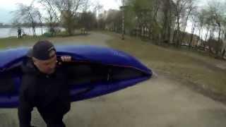 видео Байдарка надувная Вольный Ветер Тайга 430