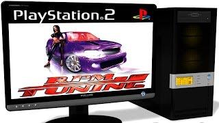 PCSX2 1.5.0 PS2 Emulator - RPM Tuning (2004). Gameplay. test run on PC #1