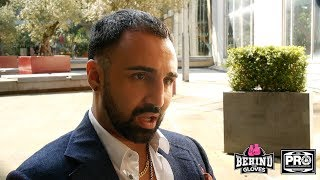 MALIGNAGGI DISCUSSES UK BOXING MARKET AND GIVES HIS THOUGHTS OF MATCHROOM'S PLANS TO GO TO THE U.S