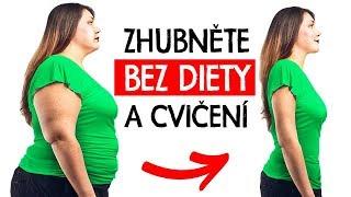 TOP 10 Jak zhubnout bez cvičení a diety