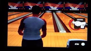 Brunswick Pro Bowling Wii Gameplay 1