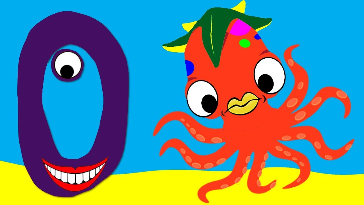 Learn the Alphabet Animals - Letter O - OCTOPUS