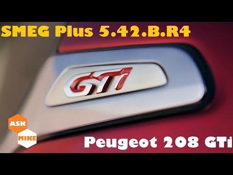 Peugeot 208 GTi Update SMEG+ firmware v5.42.B.R4